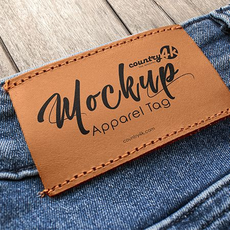 2 Free Apparel Tag PSD MockUps in 4k